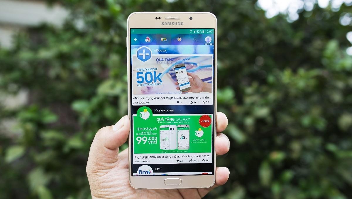 Galaxy A9 Pro 2016 - học tập, làm việc, giải trí và hơn thế nữa