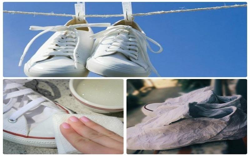 Nên để giày khô tự nhiên sẽ tốt hơn