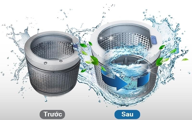 Hầu hết các dòng máy giặt hiện tại đều có chế độ vệ sinh lồng giặt