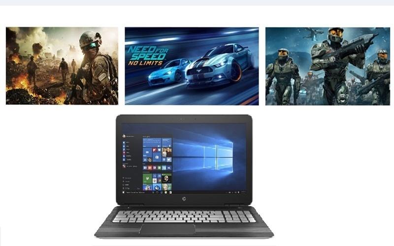 Bạn có thể yên tâm chơi các game có cấu hình cao với laptop HP