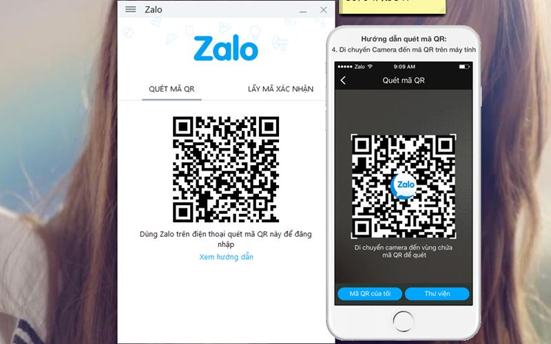 Bạn sẽ có hai cách để đăng nhập vào Zalo