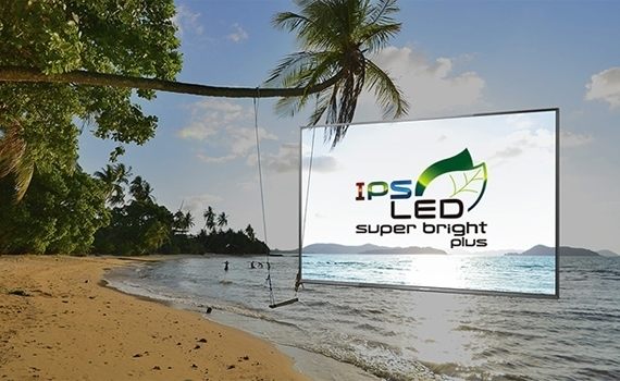 Internet tivi Panasonic TH-55DS630V sử dụng công nghệ IPS LED