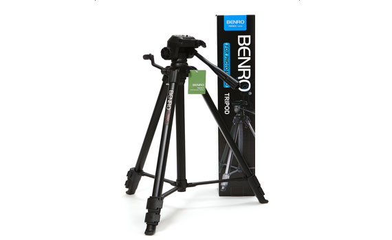 Chân máy ảnh Benro Mini Tripod T800EX đa dạng chụp ảnh sống động