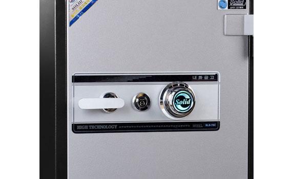Két sắt Solid SLS-76C sử dụng mã khóa chống trộm hiện đại