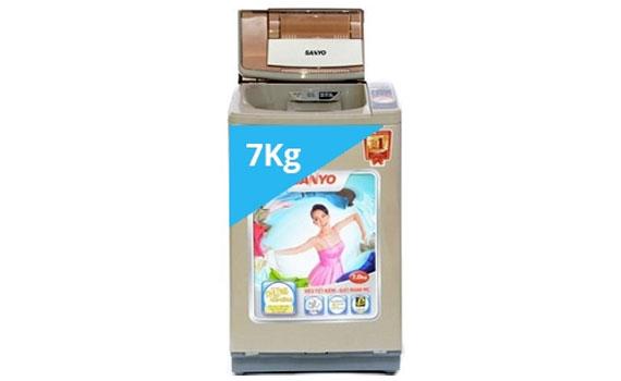 Máy giặt Sanyo ASW-F700Z1T-N chính hãng tại nguyenkim.com