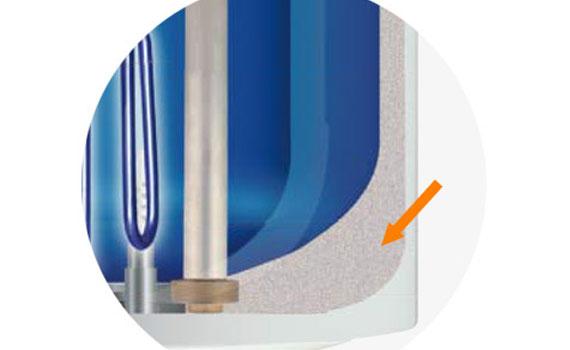 Máy nước nóng Ariston Pro R50 SH 2.5 FE lớp cách nhiệt Polyurethane tiết kiệm điện