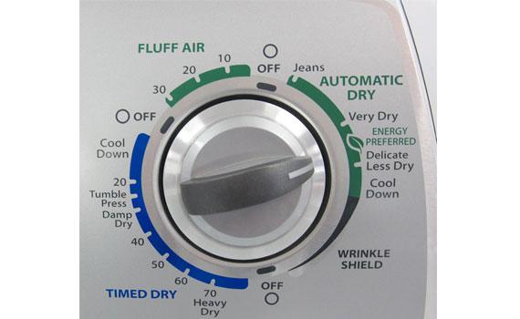 Máy sấy Whirlpool 3LWED4900YW thiết kế với nhiều tính năng bổ ích