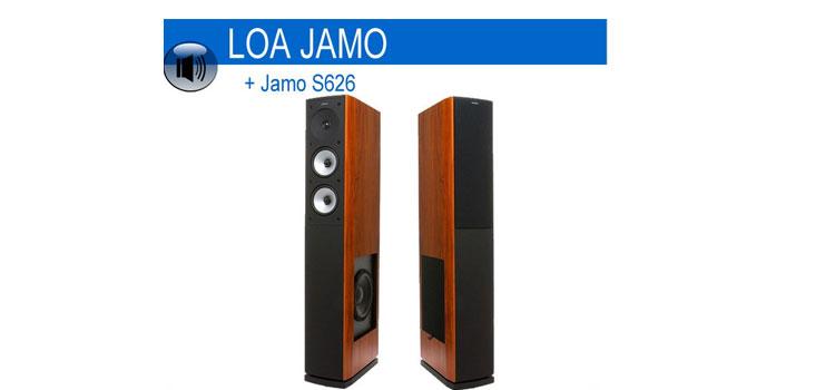 Nghe nhạc hay hơn với loa Jamo S626 HCS âm trầm mạnh mẽ