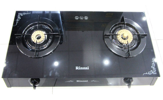 Bếp gas Rinnai RV-960-GL mặt kính chịu nhiệt