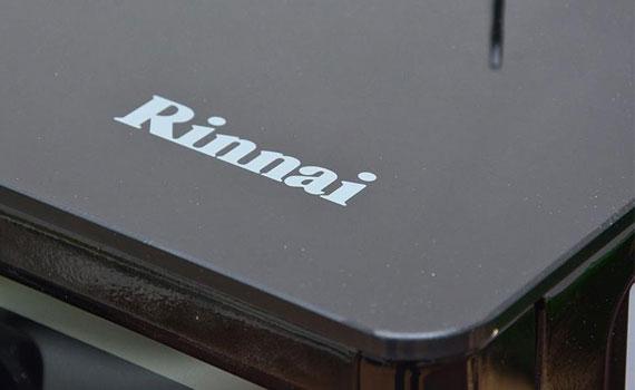 Bếp gas Rinnai RV 970 GL bề mặt trang bị kính cường lực