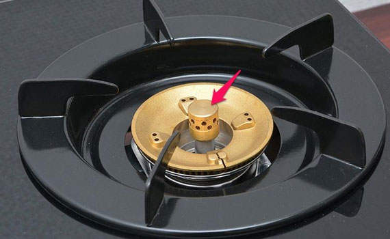 Bếp gas Rinnai RV 970 GL thiết kế đầu ham tiết kiệm gas