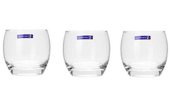 Bộ 3 ly thủy tinh Luminarc Salto giá rẻ