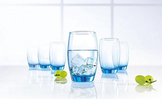 Bộ bình ly thủy tinh Luminarc Rotterdam Ice Blue thủy tinh cao cấp