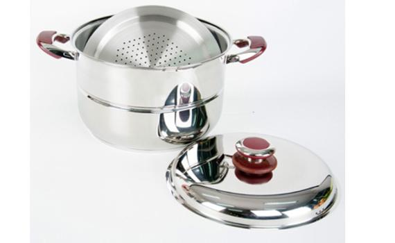 Bộ xửng inox Happycook ST32-2 kết hợp giữa nồi nấu và xửng hấp tiện dụng