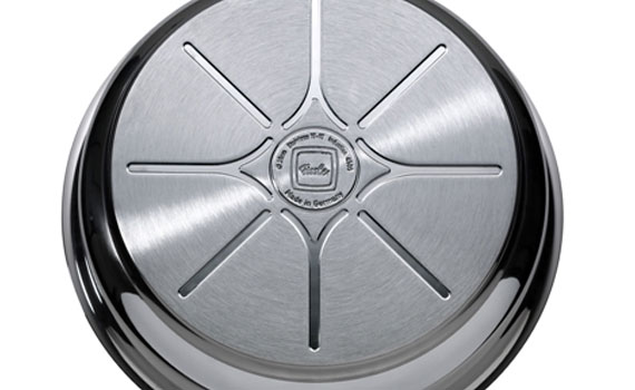 Chảo chống dính Fissler Protect Steelux Premium đáy chảo truyền nhiệt tốt