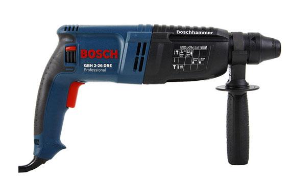 Máy khoan búa Bosch GBH 2-26 DRE an toàn sử dụng