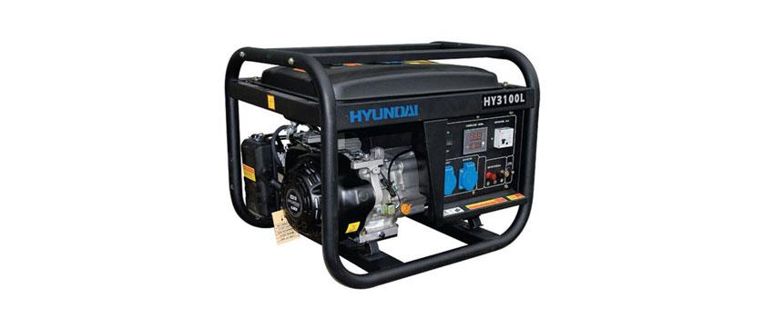 Máy phát điện Hyunhdai HY3100L bình chứa nhiên liệu 13 lít