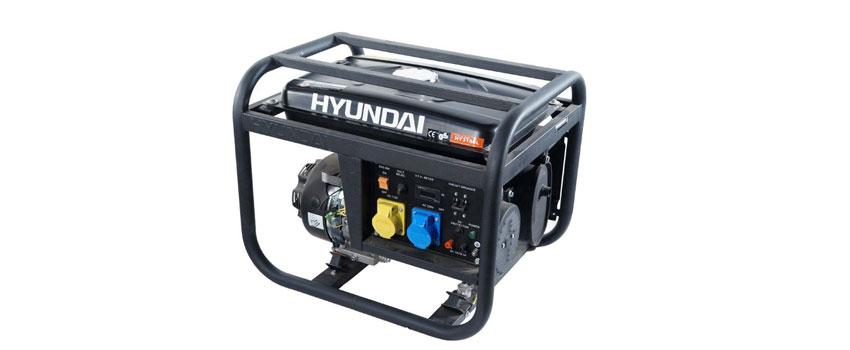 Máy phát điện Hyunhdai HY3100L máy chạy êm, ổn định