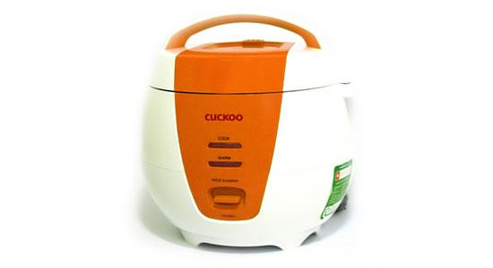 Nồi cơm điện Cuckoo CR-0661 được làm bằng nhựa cao cấp