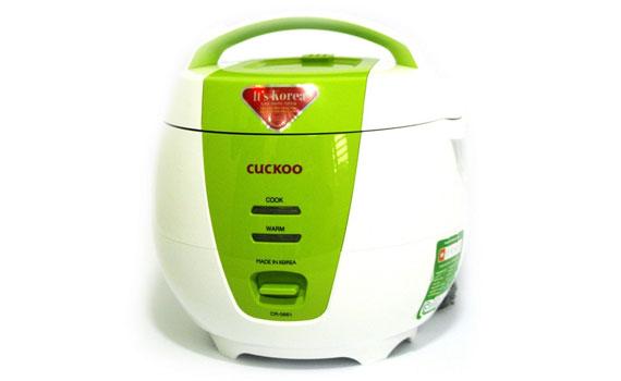 Nồi cơm điện Cuckoo CR-0661 màu sắc trẻ trung