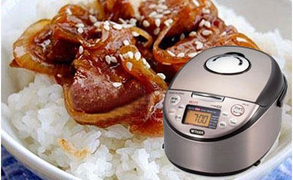 Nồi cơm điện Tiger JKT-S10W cho thức ăn chất lượng