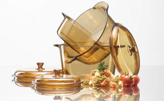 Nồi thủy tinh Luminarc Vitro Blooming Amberline nhập khẩu từ Pháp