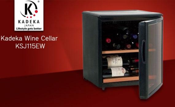 Tủ mát ướp rượu Kadeka KSJ 115EW