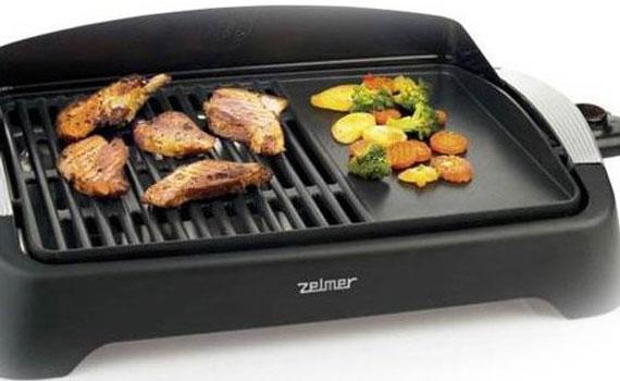 Vỉ nướng điện Zelmer 40Z012 có lớp chống dính