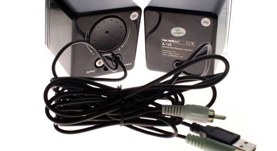 Loa vi tính Soundmax A120 hỗ trợ kết nối USB