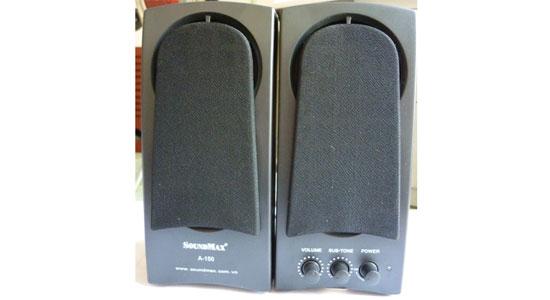 Loa vi tính Soundmax A150 sử dụng nguồn 220V