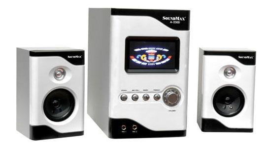 Loa vi tính Soundmax A2300 thiết kế sang trọng