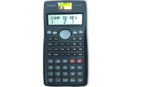 Máy Tính Casio FX500MS giá rẻ khuyến mãi ưu đãi quà tặng tại nguyenkim.com