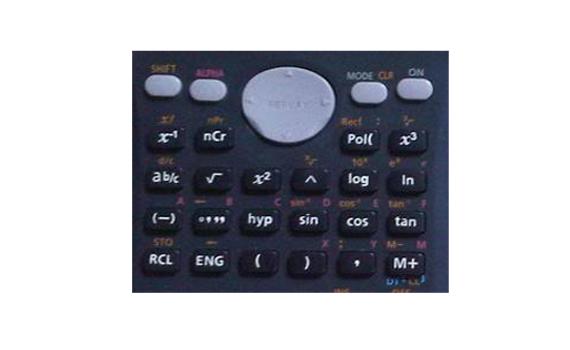 Máy Tính Casio FX500MS với tổ hợp phím giúp tính đa dạng thuật toán