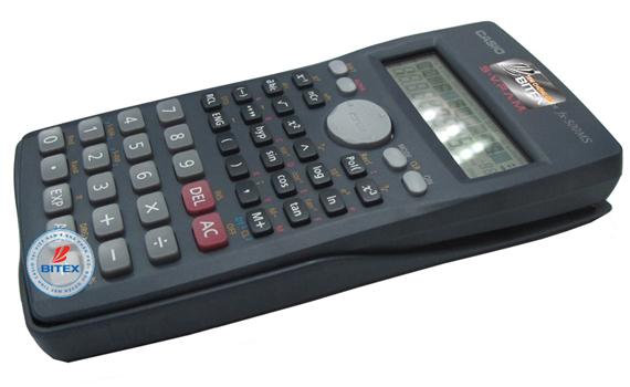 Máy Tính Casio FX500MS sử dụng bàn phím chắc chắn, chữ nổi sắc nét