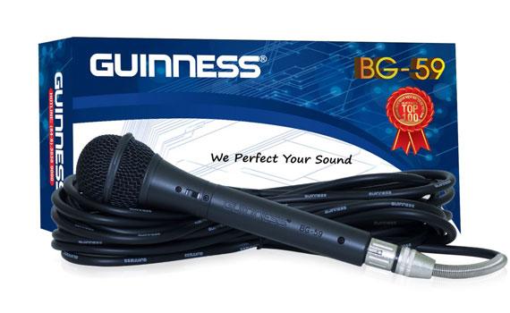 Micro Guinness BG-59 đạt chất lượng tiêu chuẩn quốc tế