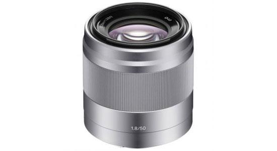Ống kính máy ảnh Sony SEL50F18 ổn định hình ảnh