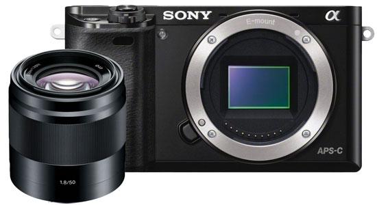 Ống kính máy ảnh Sony SEL50F18 hiệu suất quang học cao