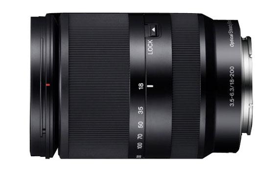Ống kính máy ảnh Sony SEL18200LE chống rung hiệu quả