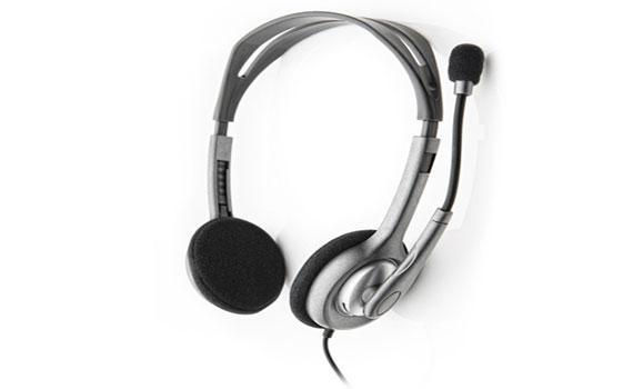 Tai nghe Logitech H111 thiết kế nhỏ gọn