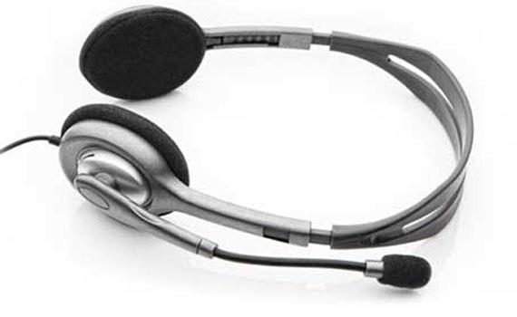 Tai nghe Logitech H111 âm thanh stereo