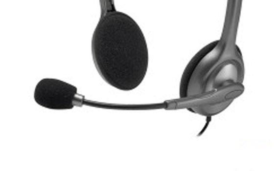 Tai nghe Logitech H111 có micro tích hợp