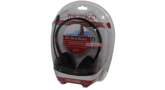 Tai nghe Microlab K270 tương thích với nhiều loại thiết bị