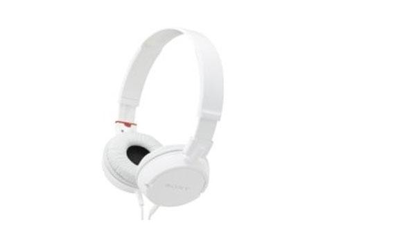 Tai Nghe Sony MDR-ZX110AP/WCE đệm lót vành tai nghe nhạc êm ái