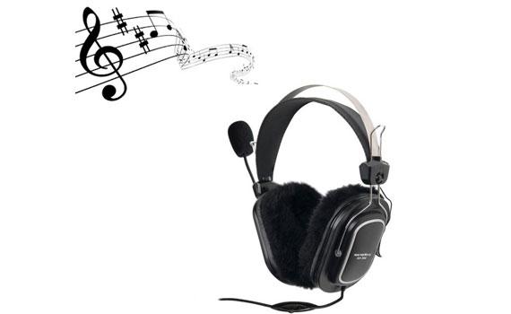 Thưởng thức âm nhạc chất lượng nhất với tai nghe SoundMax AH-304