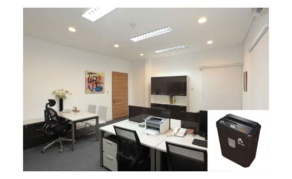 Máy hủy tài liệu Silicon PS-800C phù hợp với văn phòng chuyên nghiệp