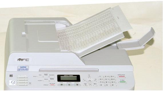 Máy in laser Brother MFC-7360 người bạn của công việc văn phòng