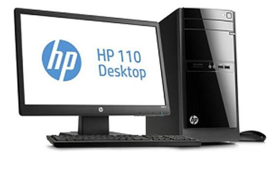 Máy tính để bàn HP 110-221X có cấu hình linh hoạt mạnh mẽ