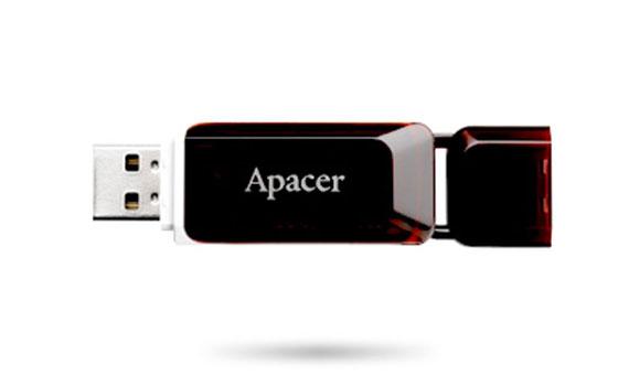 Ổ cứng di động APACER AH321 32GB thiết kế tinh tế và gọn nhẹ
