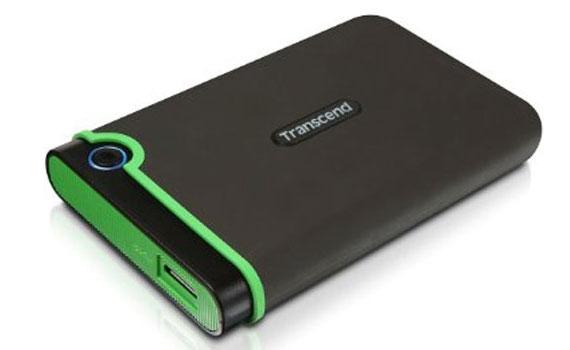 Ổ cứng di động Transcend StoreJet TS500GSJ25M3 thiết kế nhỏ gọn