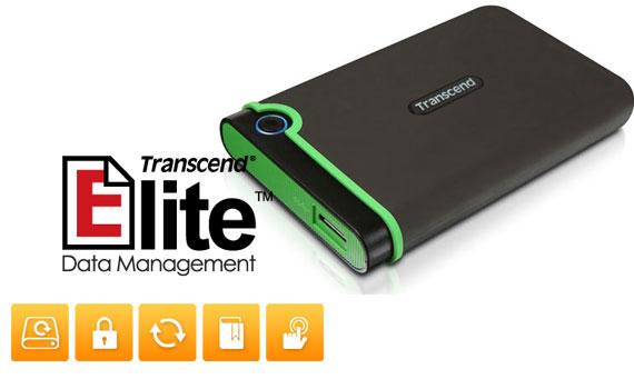 Ổ cứng di động Transcend StoreJet TS500GSJ25M3 dung lượng lưu trữ 500GB